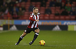 Matt Done of Sheffield Utd during the English League One match at the Bramall Lane Stadium, Sheffield. Picture date: November 22nd, 2016. Pic Simon Bellis/Sportimage