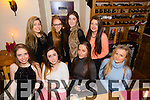 Melissa Murphy, Mounthawk, celebrating her 17th Birthday with Friends at Bella Bia's on Friday. Pictured front left to right, Aoife Leahy Rachel O' Sullivan Melissa Murphy Shauna O' Sullivan Back left to right Ronnie Mahoney, Rachel Quirke Spencer lennihan Ellen Rusk