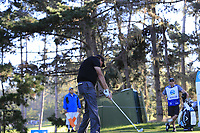 Phil Mickelson (USA) tees off the 2nd tee during Thursday's Round 1 of the 2018 AT&amp;T Pebble Beach Pro-Am, held over 3 courses Pebble Beach, Spyglass Hill and Monterey, California, USA. 8th February 2018.<br /> Picture: Eoin Clarke | Golffile<br /> <br /> <br /> All photos usage must carry mandatory copyright credit (&copy; Golffile | Eoin Clarke)