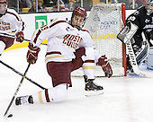 Chris Kreider (BC - 19) - The Boston College Eagles defeated the Providence College Friars 4-2 in their Hockey East semi-final on Friday, March 16, 2012, at TD Garden in Boston, Massachusetts.