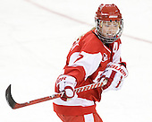 Lauren Cherewyk (BU - 7) - The visiting Boston University Terriers defeated the Boston College Eagles 1-0 on Sunday, November 21, 2010, at Conte Forum in Chestnut Hill, Massachusetts.