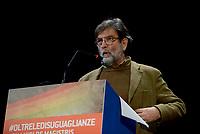 Roma, 1 Dicembre 2018<br /> Paolo Cacciari.<br /> Il Sindaco di Napoli lancia a Roma nel Teatro Italia &quot;Oltre le disuguaglianze&quot; , una nuova coalizione dei Popoli