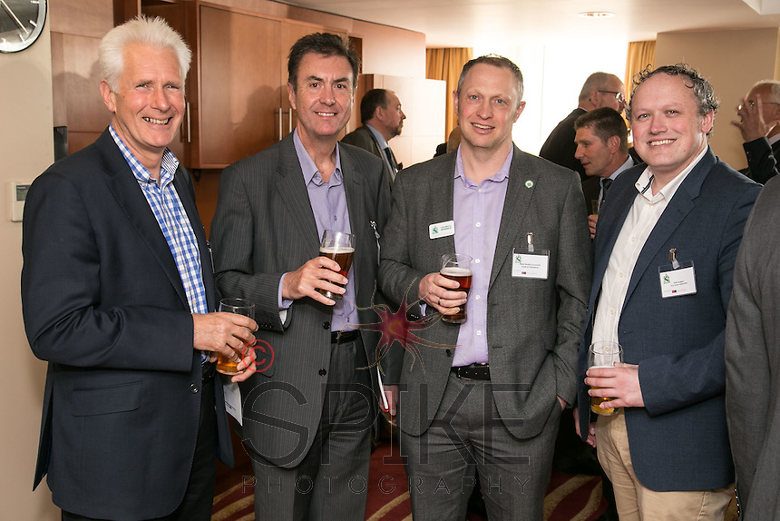 From left are Andrew Ellis, of Franklin Ellis Architects, Rob Green of collishallgreen, Mark Deakin of Turner & Townsend and Keith Rogers of Guy Taylor Associates