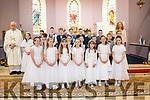 Kilgarvan Communion with Fr Con Buckley, Teacher Helen Cronin Sat 18-5-2019