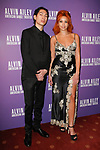"""Lucas Goodman and Jillian 'Lion Babe' Hervey arrive at the Alvin Ailey American Dance Theater """"Modern American Songbook"""" opening night gala benefit at the New York City Center on November 29, 2017."""