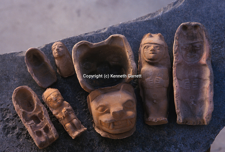 Molds and positives, Wari, Huari, Empires of the Sun, Peru