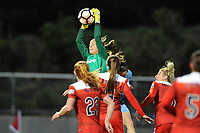 Boyds, MD - Saturday May 06, 2017: Stephanie Labbé during a regular season National Women's Soccer League (NWSL) match between the Washington Spirit and Sky Blue FC at Maureen Hendricks Field, Maryland SoccerPlex.