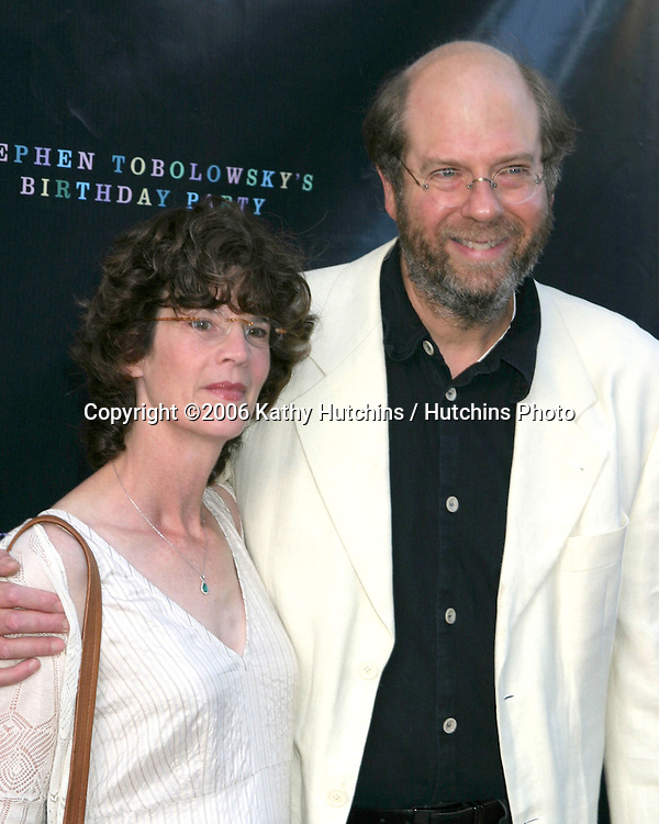 Stephen Tobolowsky &  Wife Ann Hearn.Stephen Tobolowsky's Birthday Party.Beverly Hills, CA.May 30, 2006.©2006 Kathy Hutchins / Hutchins Photo....