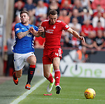 05.08.18 Aberdeen v Rangers: Josh Windass and Andrew Considine