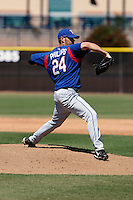 Zach Phillips   - Texas Rangers - 2009 spring training.Photo by:  Bill Mitchell/Four Seam Images