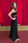 © Licensed to London News Pictures . 16/05/2015 .  The Palace Hotel , Manchester , UK . ALISON KING . The red carpet at the 2015 British Soap Awards , The Palace Hotel , Oxford Road , Manchester . Photo credit : Joel Goodman/LNP