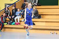 Sarah Deichmann (WU17 TV Groß-Gerau) greift an - Groß-Gerau 23.04.2017: WU17 Hessenpokal TV Gross-Gerau vs. TSV Krofdorf/Gleiberg