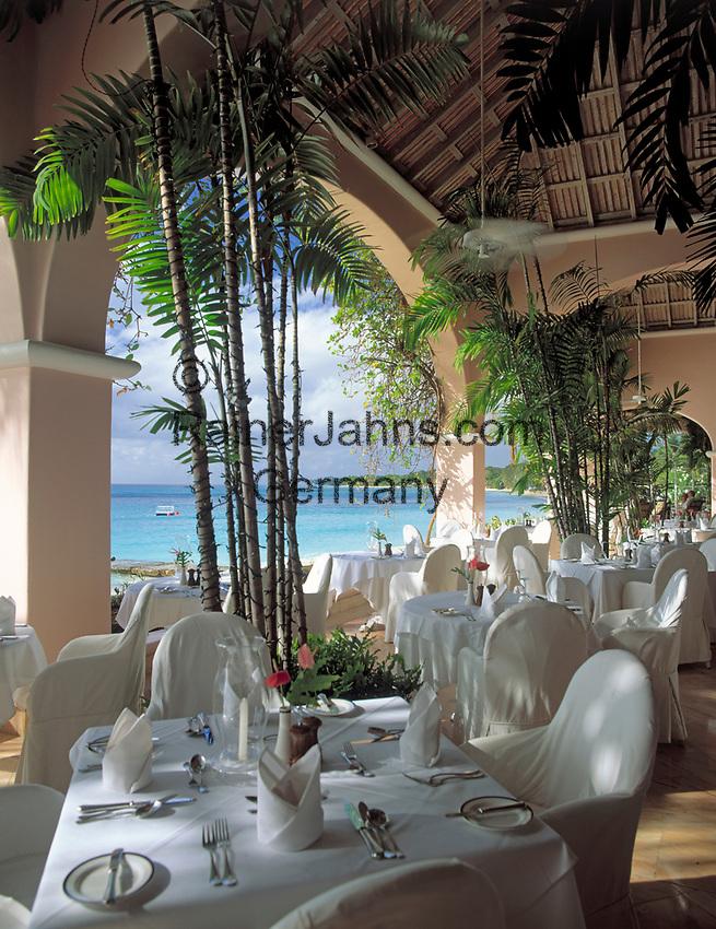 BRB, Barbados, Royal Pavilion Hotel - Restaurant   BRB, Barbados, Royal Pavilion Hotel - Restaurant