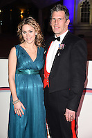 Amy Williams &amp; husband Craig Ham at The Sun Military Awards 2016 (The Millies) at The Guildhall, London. <br /> December 14, 2016<br /> Picture: Steve Vas/Featureflash/SilverHub 0208 004 5359/ 07711 972644 Editors@silverhubmedia.com