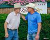 Bill Waldron & Scott Powell winning at Delaware Park on 7/17/17
