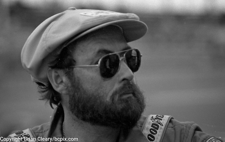 John Paul Sr. in the pits during the Rolex 24 at Daytona, Daytona International Speedway, Daytona Beach, FL, January 31, 1982.  (Photo by Brian Cleary/www.bcpix.com)