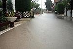 Unwetter auf der Insel Vir - Kroatien