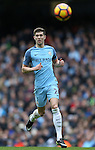 John Stones of Manchester City during the Premier League match at the Etihad Stadium, Manchester. Picture date: December 3rd, 2016. Pic Simon Bellis/Sportimage