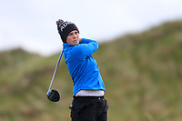 Clodagh Coughlan (Douglas) during the 2nd round of the Irish Women's Open Stroke Play Championship, Enniscrone Golf Club, Enniscrone, Co. Sligo. Ireland. 16/06/2018.<br /> Picture: Golffile | Fran Caffrey<br /> <br /> <br /> All photo usage must carry mandatory  copyright credit (© Golffile | Fran Caffrey)