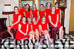 Dancers Sharon Williams, Regina O'Sullivan, Lana Wackman, Shauna Williams, Geraldine O'Dowd, Nora Corriday, Siobhan Fleming, Bernie O'Regan, Una Gleasure Farmer, Denise Shanahan, Ann Connell, Niamh Daly at the St. Pats Blennerville Strictly come Dancing fundraiser at Ballyroe Heights Hotel on Friday