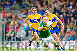 Darran O'Sullivan Kerry in action against Jamie Malone Clare in the Munster Senior Football Championship at Fitzgerald Stadium in Killarney on Sunday.