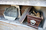 Open Casket With Bones Visible, La Recoleta Cemetery
