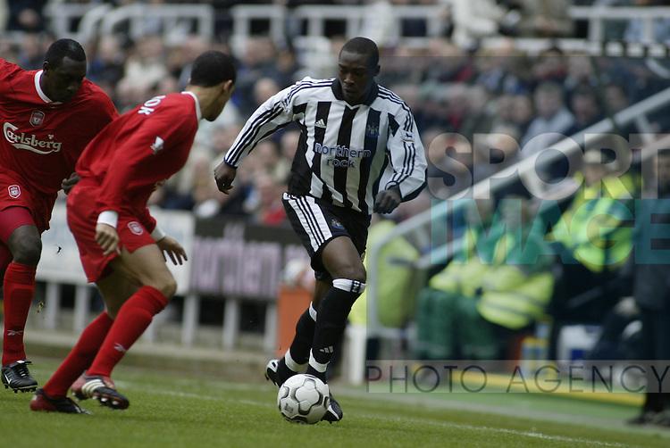 Premier League - Newcastle Utd vs Liverpool - St James' Park Stadium - Newcastle  - 6th December 2003 - Picture Simon Bellis/Sportimage