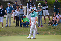 Sergio Garcia (ESP) reacts to his barely missing his putt for eagle on 5 during day 4 of the WGC Dell Match Play, at the Austin Country Club, Austin, Texas, USA. 3/30/2019.<br /> Picture: Golffile | Ken Murray<br /> <br /> <br /> All photo usage must carry mandatory copyright credit (© Golffile | Ken Murray)