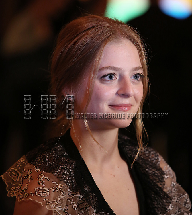Anna Baryshnikov attends the Broadway Opening Night After Party for The Roundabout Theatre Company production of 'Time and The Conways'  on October 10, 2017 at the American Airlines Theatre in New York City.