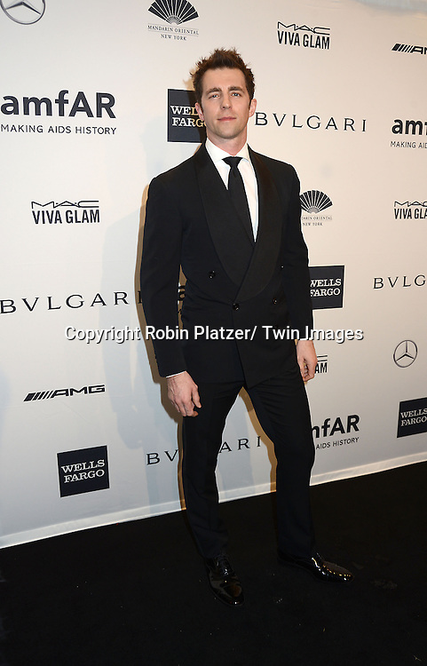 James Marshall attends the amfAR New York Gala on February 5, 2014 at Cipriani Wall Street in New York City.