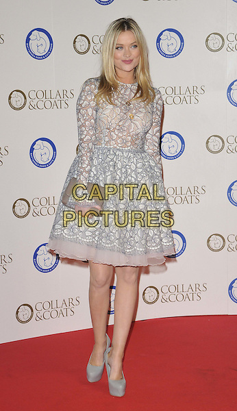 LONDON, ENGLAND ollars &amp; Coats Gala Ball 2014 in aid of Battersea Dogs &amp; Cats Home OCTOBER 30: Laura Whitmore attends the Collars &amp; Coats Gala Ball 2014 in aid of Battersea Dogs &amp; Cats Home, Battersea Evolution, Battersea Park, on Thursday October 30, 2014 in London, England, UK. <br /> CAP/CAN<br /> &copy;Can Nguyen/Capital Pictures