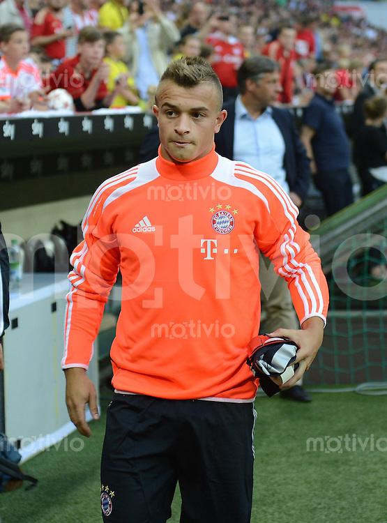 FUSSBALL   1. BUNDESLIGA   SAISON 2012/2013   SUPERCUP FC Bayern Muenchen - Borussia Dortmund            12.08.2012 Xherdan Shaqiri (FC Bayern Muenchen) nur Ersatzspieler