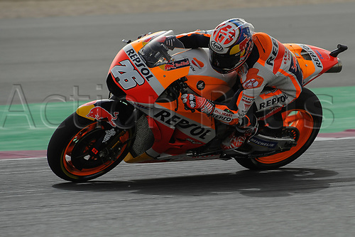 17th March 2018, Losail International Circuit, Lusail, Qatar; Qatar Motorcycle Grand Prix, Saturday qualifying;Dani Pedrosa (Repsol honda)