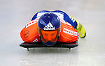 17 December 2010: Chris Type sliding for Great Britain, finishes in 9th place at the Viessmann FIBT Skeleton World Cup Championships in Lake Placid, New York, USA. Mandatory Credit: Ed Wolfstein Photo