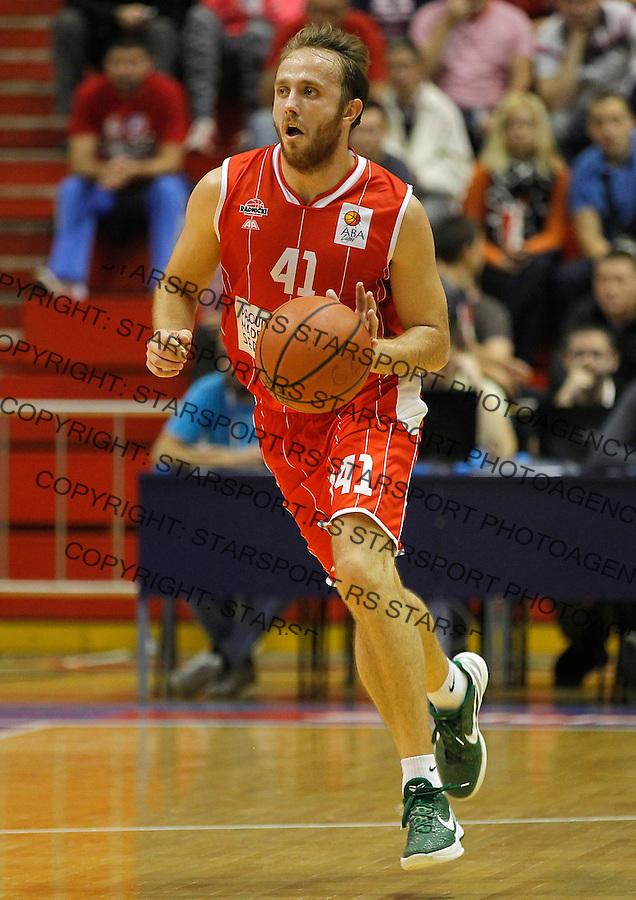 Kosarka ABA League season 2013-2014<br /> Crvena Zvezda v Radnicki (Kragujevac)<br /> Marko Marinovic<br /> Beograd, 12.10.2013.<br /> foto: Srdjan Stevanovic/Starsportphoto &copy;