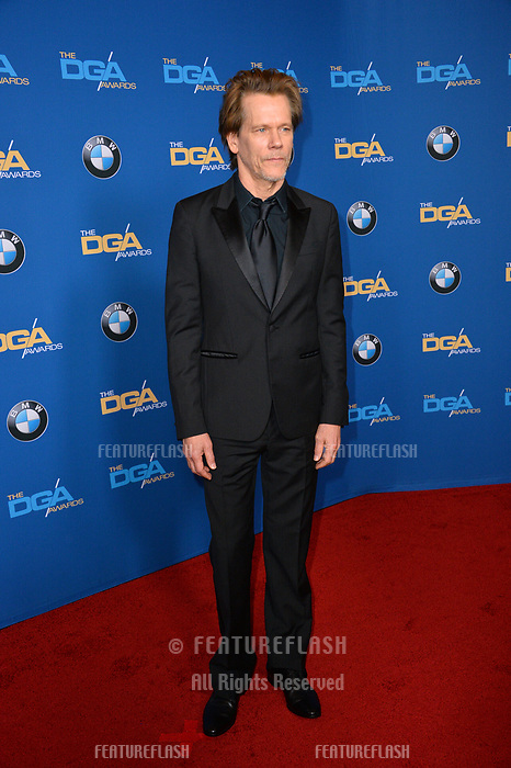Kevin Bacon at the 70th Annual Directors Guild Awards at the Beverly Hilton Hotel, Beverly Hills, USA 03 Feb. 2018<br /> Picture: Paul Smith/Featureflash/SilverHub 0208 004 5359 sales@silverhubmedia.com