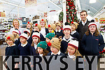 Children from Flemby National School singing Christmas Carols at Ballyseede Garden Centre on Thursday.