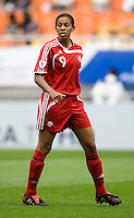 Candace Chapman.  The USWNT defeated Canada, 1-0, at Suwon World Cup Stadium in Suwon, South Korea, to win the Peace Queen Cup.