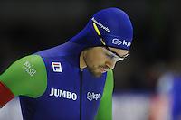 SCHAATSEN: HEERENVEEN: 14-12-2014, IJsstadion Thialf, ISU World Cup Speedskating, Kjeld Nuis, ©foto Martin de Jong