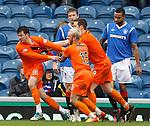 Gavin Gunning celebrates his goal as Rangers are stunned