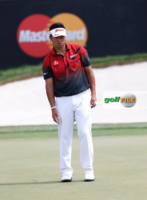 Hideki Matsuyama (JPN) during the First Round of the Arnold Palmer Invitational Championship, Bay Hill Golf Club, Orlando,  Florida, USA. 17/03/2016.<br /> Picture: Golffile | Mark Davison<br /> <br /> <br /> All photo usage must carry mandatory copyright credit (&copy; Golffile | Mark Davison)