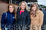 Dawn Quaid (Athea) with Amy Carmody and Maria O'Halloran (Listowel), pictured at Listowel Races on Sunday last.
