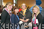 Pictured at the Creative Media Symposium at the IT, Tralee on Friday, from left: Jill Hurley, Lorna Dollery, Lisa McElligott and Laura Cunningham..