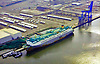 Aerial view of Hoegh Upland Ship docked at the Port of Wilmington, Delaware Aerial view of Nautical Vessel Aerial view of Nautical Vessel Aerial view of Nautical Vessel Aerial view of Nautical Vessel