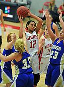Farmington vs. Harrison basketball 01/12/16