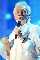 """20 March 2020 - Kenny Rogers, whose legendary music career spanned nearly six decades, has died at the age of 81. Rogers was inducted to the Country Music Hall of Fame in 2013."""" He had 24 No. 1 hits and through his career more than 50 million albums sold in the US alone. He was a six-time Country Music Awards winner and three-time Grammy Award winner. Some of his hits included """"Lady,"""" """"Lucille,"""" """"We've Got Tonight,"""" """"Islands In The Stream,"""" and """"Through the Years."""" His 1978 song """"The Gambler"""" inspired multiple TV movies, with Rogers as the main character. File Photo: 07 June 2008 - Nashville, Tennessee - Kenny Rogers. 2008 CMA Music Festival Nightly Concert held at LP Field. Photo Credit: Mike Strasinger/AdMedia"""