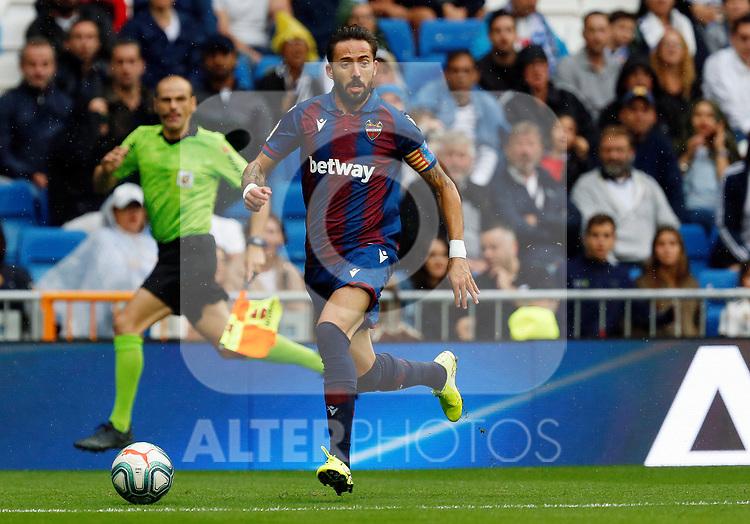 Levante UD's Jose Luis Morales during La Liga match. Aug 24, 2019. (ALTERPHOTOS/Manu R.B.)