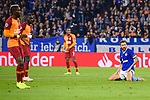 06.11.2018, VELTINS Arena, Gelsenkirchen, Deutschland, GER, UEFA Champions League, Gruppenphase, Gruppe D, FC Schalke 04 vs. Galatasaray Istanbul<br /> <br /> DFL REGULATIONS PROHIBIT ANY USE OF PHOTOGRAPHS AS IMAGE SEQUENCES AND/OR QUASI-VIDEO.<br /> <br /> im Bild Guido Burgstaller (#19 Schalke) entt&auml;uscht / enttaeuscht / traurig <br /> <br /> Foto &copy; nordphoto / Kurth