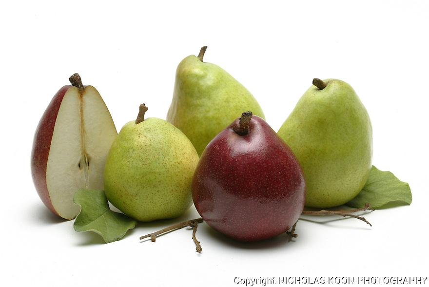 Pears still life.