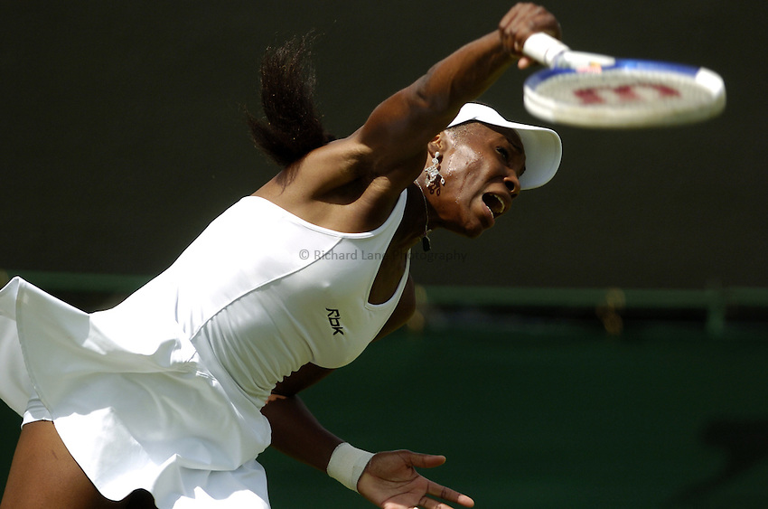 Photo. Jed Wee..Wimbledon Championships. 21/06/2005..Venus Williams.